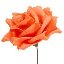 Skum Rosen Orange Ø15cm 4st