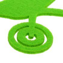 Trädgårdsverktyg kändes grön 24st