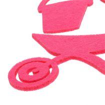 Trädgårdsverktyg kändes rosa 24st