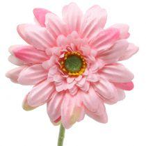 Gerbera rosa konstgjord 47 cm 12st