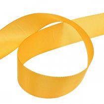 Gåva band dekoration band orange sidenband 40mm 50m