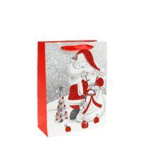 Presentväska Santa 24cm x18cm x 8cm