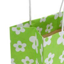 Presentpåsar grön 20 cm x 11 cm x 25 cm 8 st