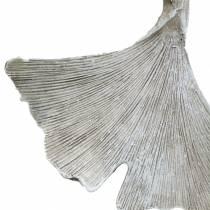Grava smycken ginkgo blad att hänga 10 cm 3st