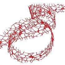 Mesh tape red 40mm 10m