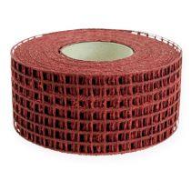 Mesh tape 4,5cm x 10m Bordeaux