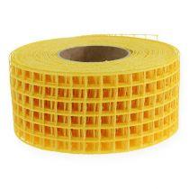 Gitterband 4,5 cm x 10 m gult