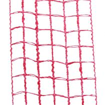 Gitterband 4,5 cm x 10 m rosa