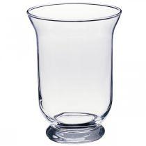 Glasvas klar Ø13,5cm H19,5cm glasdekorationsvase
