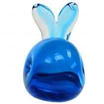 Glasvalblå L12cm