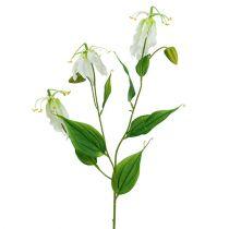 Gloriosa vit konstgjord 84 cm 3st