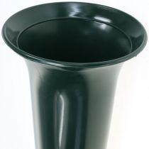 Gravvas mörkgrön 31cm 5st
