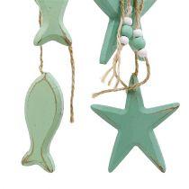 Dekorativ hängstjärna, fiskmynta 47 cm - 50 cm 2 st