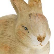 Kanin gjord av naturlig keramik 8,5 cm x 12 cm 3 st