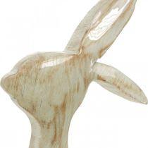 Dekorationsfigur, kanin, vårdekoration, påsk, trädekoration 30,5 cm