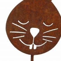 Hasenkopf metallplugg rost H52.5cm