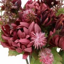 Chrysanthemum bukett mix lila 35cm
