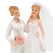 Bröllopsfigur kvinnliga par 17cm