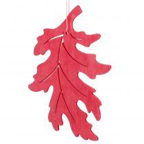 Träblad blandning för hängande blandade 15 cm 9 st