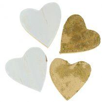 Trähjärta i en påse 2cm - 4cm 24st