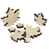 Träblad, lönnlöv blandar 2,5 cm - 7 cm 36p