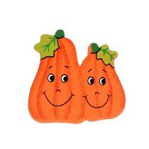 Träpumpor för lim 2,5 cm orange 18st