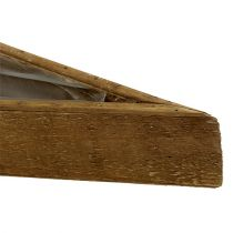 Träskål för att plantera naturen 79 cm x 14 cm x 7,5 cm