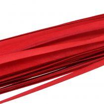 Trälister flätade band röd 95cm - 100cm 50p