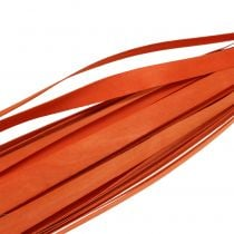 Trälister för fläta orange 95cm - 100cm 50p
