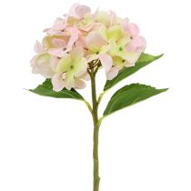 Hortensia konstgjord ljusrosa 36cm