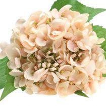 Hortensia konstgjord rosa 61 cm