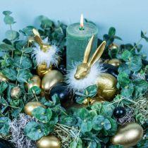 Kycklingägg Black Easter Decoration Blown Eggs 12st