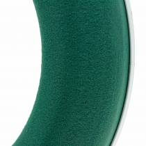 OASIS® kransring blommig skumgrön H3cm Ø25cm 6st