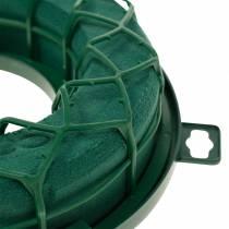 OASIS® IDEAL universalring blommig skumkransgrön H4cm Ø18,5cm 5st
