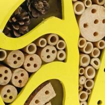 Insekthotell runt gult Ø25cm
