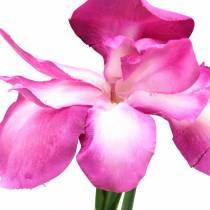 Iris konstgjord rosa 78cm