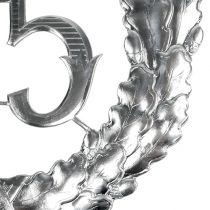 Jubileum nummer 25 i silver Ø40cm