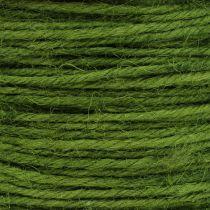Jutekabel grön Ø2mm 100g