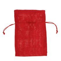Säckväska påsar röd 16 cm x 24 cm 10 st