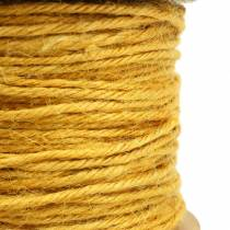 Jutkabel gul Ø2mm 50m