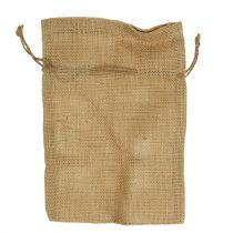 Jute väskor naturliga 16 cm x 24 cm 10 st