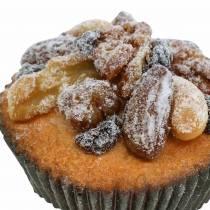 Muffins med konstgjorda nötter 7 cm 3st