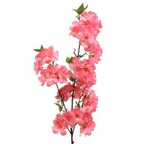Körsbärsröd gren konstgjord rosa 103cm