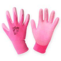 Kixx trädgårdshandskar storlek 8 rosa, rosa