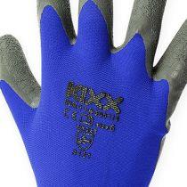 Kixx trädgårdshandskar blå, svart storlek 10