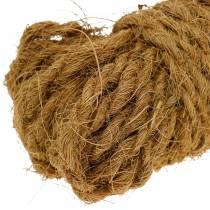 Kokosnötråd naturligt Ø4mm 25m
