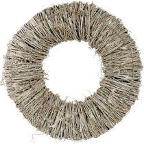 Clematis krans vit tvättad Ø40cm