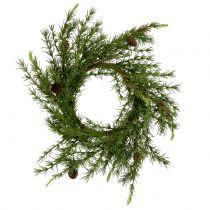 Krans, tabellkrans lärkgrön Ø50cm