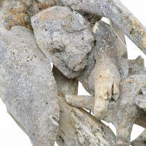 Kransrot trägrå naturlig dekoration rotkrans Ø40cm H9cm
