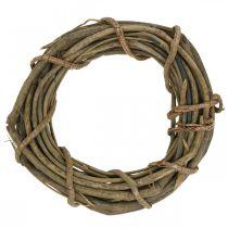 Dekorativ krans av grenar natur Ø35cm